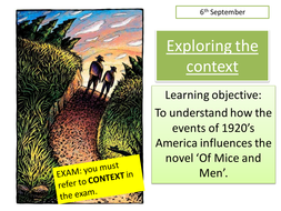 Of Mice and Men (ppts. chapters 1-3)