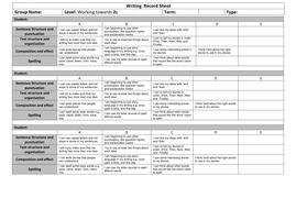 Writing  Record Sheet Towards 2c.docx