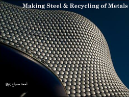 Making steel & recycling.pptx