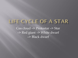 Life-cycle of a star Presentation with notes.pptx