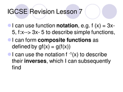 IGCSE Revision Lesson 7.ppt