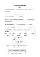 crude oil  fractional distillation by evaughan  teaching   fractional distillation worksheet level docx