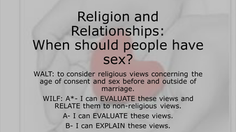 GCSE Unit One Religion and Relationships L3 Sex.pptx