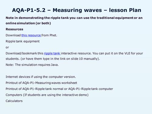 AQAP15Waves by WonderCaliban Teaching Resources Tes – Seismic Waves Worksheet