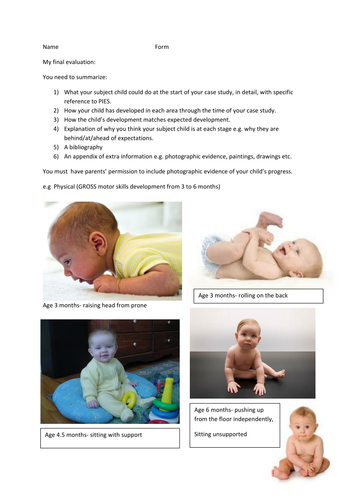 child study introduction coursework