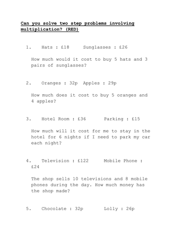 1st Worksheets Pdf Multiplication Word Problems By Marktinsley  Teaching Resources  Tes Worksheet Of Nouns Pdf with Classification Of Chemical Reactions Worksheet Answers Pdf  Compound Words Worksheets 2nd Grade Excel