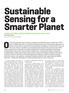 ICT Unit - Cambridge Technicals - Unit 42 - Developing a Smarter Planet