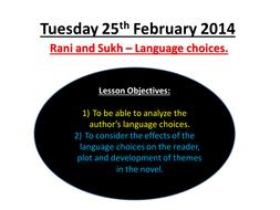 Tuesday 25th February 2014 language choices - finish reading.pptx
