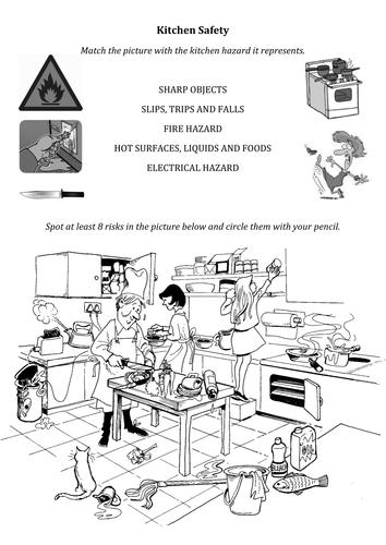 Kitchen Safety Teaching Resources