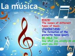 La música y el pasado