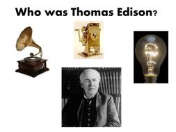 Thomas Edison Presentation