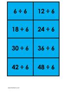 6 times table (dividing) - colour.docx