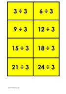 3 times table (dividing) - colour.docx