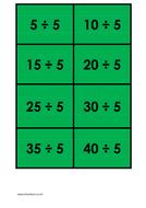 5 times table (dividing) - colour.docx