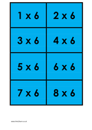6 times table - colour.docx
