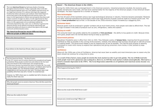 Of Mice and Men context lesson by jwaller4 Teaching Resources TES – Of Mice and Men Worksheets