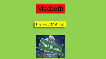Macbeth: plot and structure