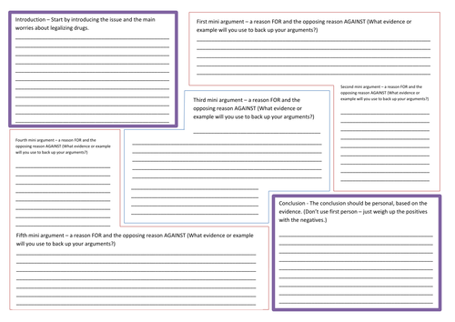 Balanced argument planning template connectives by nahoughton balanced argument planning template connectives by nahoughton teaching resources tes altavistaventures Choice Image