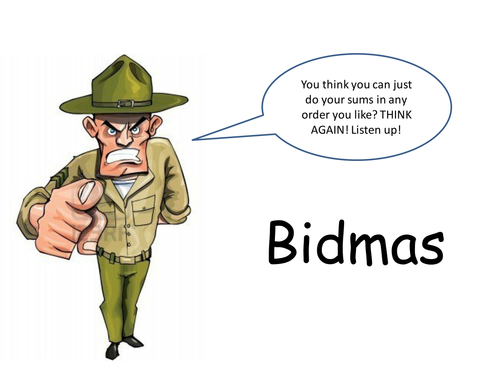 All Worksheets bodmas worksheets and answers : BIDMAS / BODMAS Powerpoint by HolyheadSchool - Teaching Resources ...