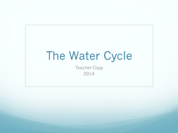 The Water Cycle Teacher copy .pptx