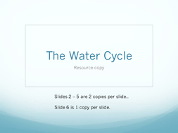 The Water Cycle student non IPad resources.pptx