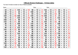 100 division challenge 12x tables - answers.docx