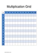 Multiplication Grid - Empty.docx