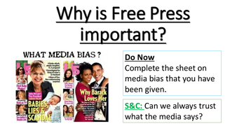 Why is a Free Press important?