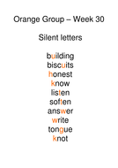 Week 30 - silent letters.doc