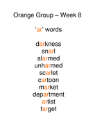 Week 9 - ar words.doc