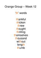 Week 12 - th words.doc