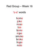 Week 16 - o-e words.doc