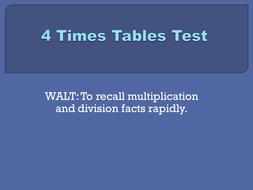 4x tables test set 2.pptx