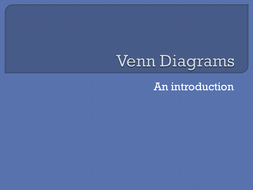 Introduction to Venn Diagrams
