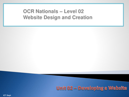 Unit 02 - LO3 - Create interactive elements.pptx