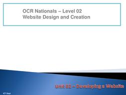 Unit 02 - LO1 - Plan a Website.pptx