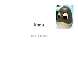 Kodu Starting Activities