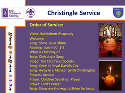 Christingle Service PowerPoint