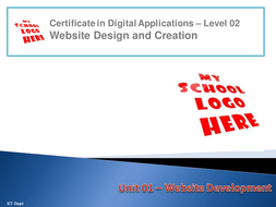 CiDA - Unit 01 - LO1 - Plan a Website.pptx