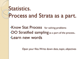 GCSEStat-10-2-process, stratif sample and practice DBL.pptx