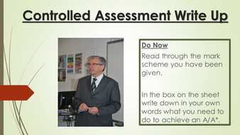 L1 - Controlled Assessment Write Up.pptx