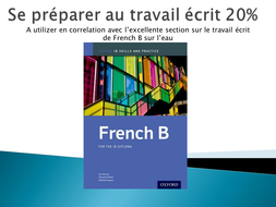 Travail écrit Francais B Présentation