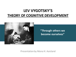 Lev Vygotsky - Main ideas