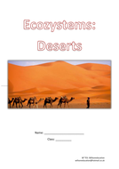 Ecosystems Worksheet Pack - Deserts