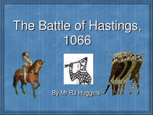 Battle of Hastings Powerpoint and worksheets by jadeykins8911
