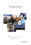 Industry: KS3 / KS4 geography work book
