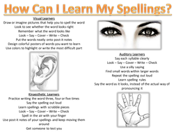 How Can I Learn My Spellings?