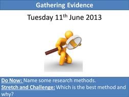 Gathering Evidence.pptx