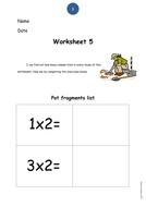 Worksheet 5 - times up to 10.pdf