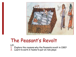 The causes of the peasants revolt - role play